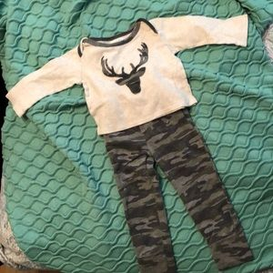 Mud pie camouflage outfit